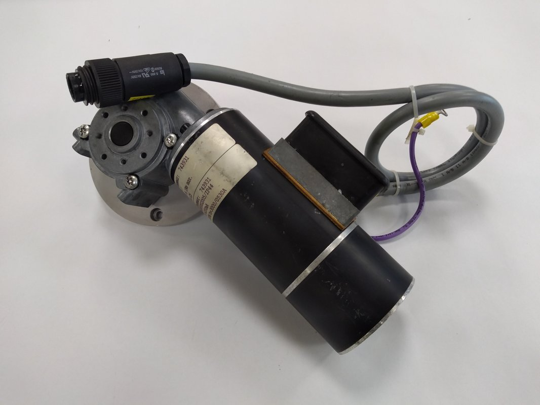 Spindle motor with gearbox for Technotrans electroplating