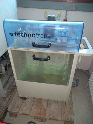 Sludge dewatering system / Schlammentwässerungssystem Oscar Technotrans
